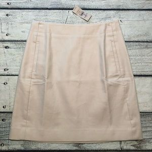 NWT Loft light tan pencil skirt petite 00P